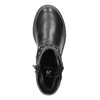 Girls' High Boots with Rhinestones mini-b, black , 291-6395 - 15
