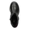 Girls' High Boots with Studs mini-b, black , 291-6398 - 15