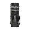 Girls' High Boots with Studs mini-b, black , 291-6398 - 16