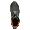 Men's leather boots with distinctive sole weinbrenner, gray , 896-2702 - 15