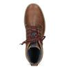 Men's Winter Ankle Boots bata, brown , 896-3677 - 17