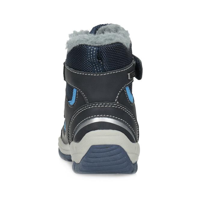Children's Winter Boots with Fleece bubblegummer, blue , 199-9602 - 15
