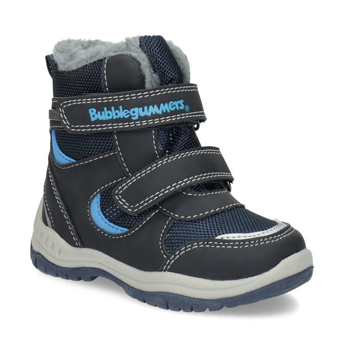 Children's Winter Boots with Fleece bubblegummer, blue , 199-9602 - 13