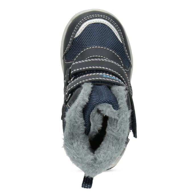 Children's Winter Boots with Fleece bubblegummer, blue , 199-9602 - 17