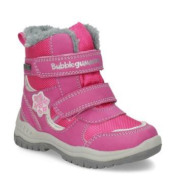 Pink Children's Snow Boots bubblegummer, pink , 199-5602 - 13
