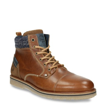 Men's Ankle Boots bata, brown , 896-3669 - 13