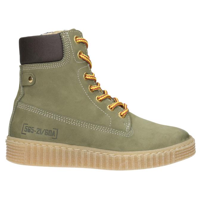 Children's Insulated Winter Boots mini-b, green, 496-3620 - 26