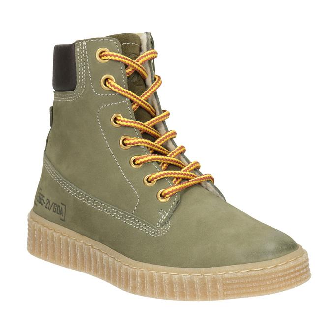 Children's Insulated Winter Boots mini-b, green, 496-3620 - 13