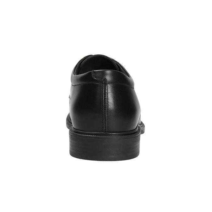 Men's Leather Derby Shoes climatec, black , 824-6941 - 16