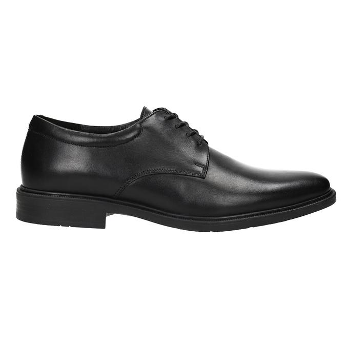 Men's Leather Derby Shoes climatec, black , 824-6941 - 26