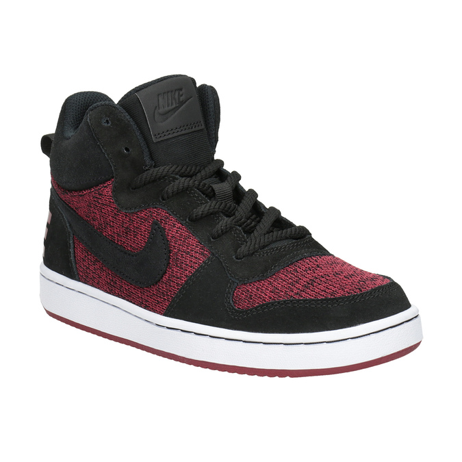 Children's High-Top Sneakers nike, red , 401-5405 - 13