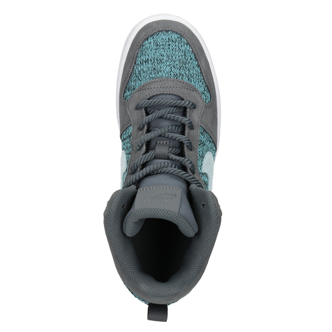 Children's High-Top Sneakers nike, gray , 401-2108 - 17