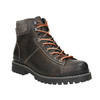 Men's Winter Leather Ankle Boots bata, gray , 896-2660 - 13