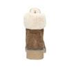 Ladies' Winter Boots with Fleece bata, brown , 593-4607 - 16