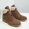 Ladies' Winter Boots with Fleece bata, brown , 593-4607 - 18