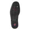 Black leather shoes fluchos, black , 824-6451 - 18