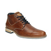 Men's leather ankle boots bata, brown , 826-3925 - 13