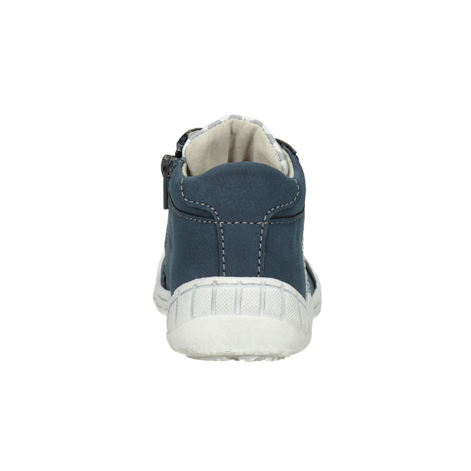 Kids' ankle boots with a pattern bubblegummer, blue , 111-9626 - 16