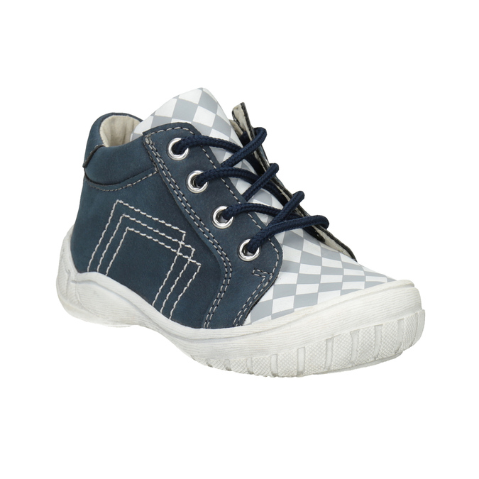 Kids' ankle boots with a pattern bubblegummer, blue , 111-9626 - 13