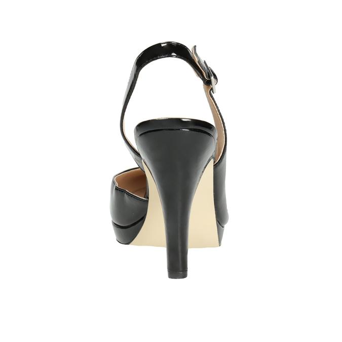 Stiletto pumps insolia, black , 721-6616 - 16