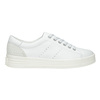 Ladies' leather casual sneakers bata, white , 544-1606 - 26