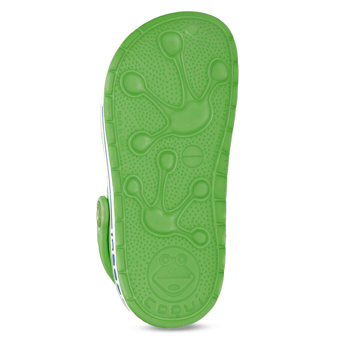 Children's green sandals coqui, green, 272-7603 - 18