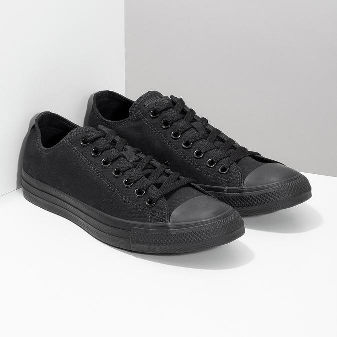 Men's black sneakers converse, black , 889-6279 - 26