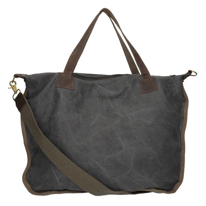 Big bag with strap weinbrenner, gray , 969-2620 - 16